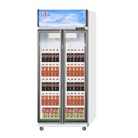 GEA EXPO-600 Display Cooler Kulkas Showcase 575 L - Putih 1