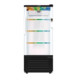 Sanken SRS-228-BK Display Cooler Kulkas Showcase 220L - Hitam