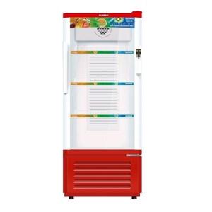 Sanken SRS-188-MR Display Cooler Kulkas Showcase 180L - Putih Merah