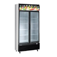 Modena SC 2201 L Display Cooler Kulkas Showcase 1200 Liter - Hitam 1