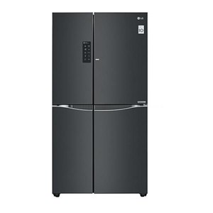 LG GC-M247UGBV Lemari Es - Kulkas Side by Side Door-in-Door™ - Luminous Black Glass - 679 Liter