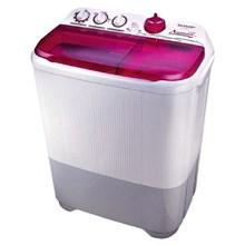 Sharp ES-T85CR-PK Mesin Cuci 2 Tabung 8 Kg - Pink