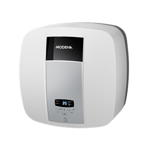 Modena ES-10DR Casella Water Heater Electric Digital Display With Remote - 10 Liter
