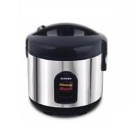 Sanken SJ-135H Hitam Rice Cooker Tradisional 1 Liter - Hitam