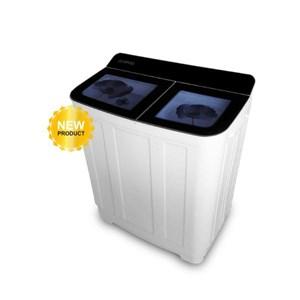 Mesin Cuci Top Loading 2 Tabung Denpoo Dw-976