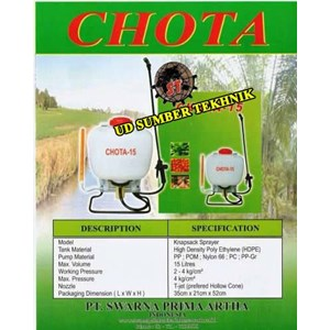 Tank Sprayer Chota 15L