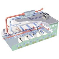 Split Duct System Flow Master