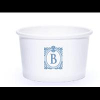 Paper Cup Bowl 22 oz (650 ml) Sablon tanpa tutup