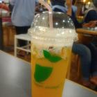 sablon cup gelas plastik 22 oz  1