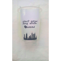 Cup Gelas Plastik sablon 8 gr