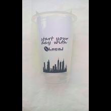 Sablon Cup Gelas Plastik 16 oz 8 gr