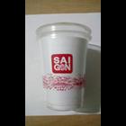 Sablon Cup Gelas Plastik 14 oz 8 gr 1