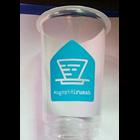 Sablon gelas plastik 16 oz 7 gr ssp 1