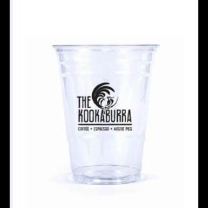 Sablon Gelas Plastik Brand