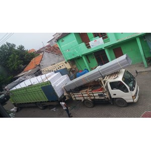 Jasa Sewa Truck Fuso dari Surabaya ke  Palembang