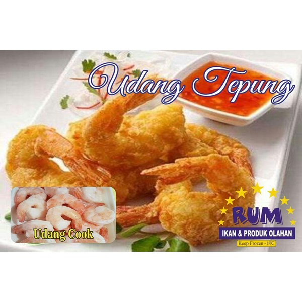 Udang cook pto rum 500gr