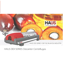 HAUS DDI Series Decanter Centrifuges