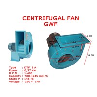 Jual centrifugal fan GWF