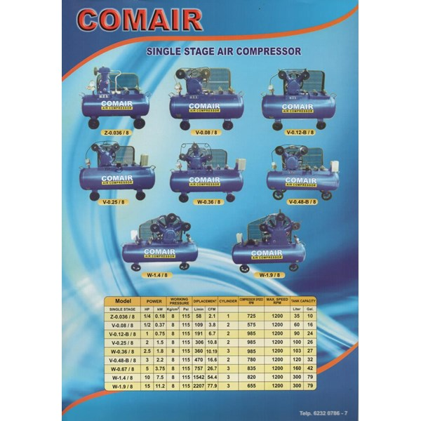 Kompresor Angin Comair
