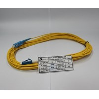 Jual Kabel Patch cord Fiber Optic FTTH LC-SC UPC Single Mode 2mm 10 meter