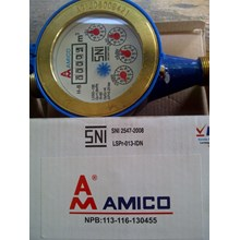 Water Meter AMICO brass 0.5 inch 15 mm JakarTA
