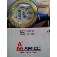 Jual Water Meter AMICO Cast Iron SNI  3.75 inch atau 20 mm Jakarta termurah