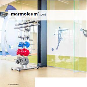 Lantai Kayu Marmoleum Sport