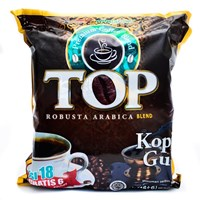 TOP KOPI GULA 2 IN 1 12 PACK X10X25 GR