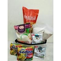 Jual Paket Sembako rakyat untuk CSR Donasi-Pilkada-Bonus karyawan