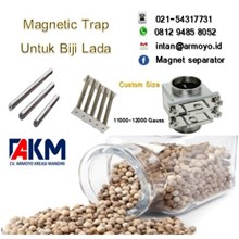 Magnetic Powder for the Pepper Seed Industry