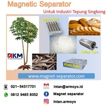 Magnet separator for cassava industry 11000-12000