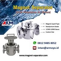 Magnet Trap Liquid Untuk Pengolahan Air Mineral