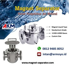 Magnet Trap Liquid for Mineral Water Treatment