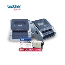 Printer Label Brother P Touch QL-1060N Mesin Label + Free  DK-22243 (label)