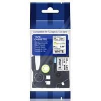 TZE-FX251 Flexible Black On White 24MM Brother Label Tape 1