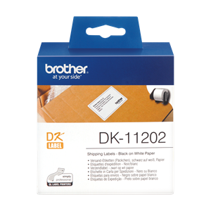 DK-11202 Label Roll Brother 62mm x 100mm