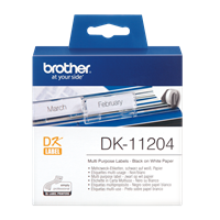 DK-11204 Brother Shipping Label Multi Purpose Label 17mmx54mm (400label) 1