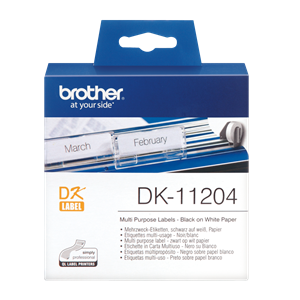 DK-11204 Brother Shipping Label Multi Purpose Label 17mmx54mm (400label)