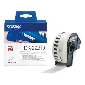 DK-22210 Brother Shipping Label Continuous Length Paper Tape 29mm (30.48m)