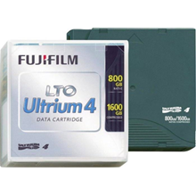 LTO 4 DATA CARTRIDGE ULTRIUM FUJIFILM - 800GB/1600GB