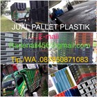 Pallet plastik bekas uk 120x100x15 5