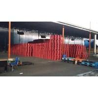 Distributor Pallet plastik bekas uk 120x100x15 3