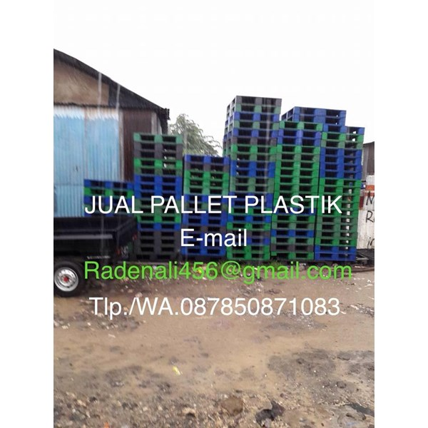 Pallet Plastik Uk 120x100x16 cm