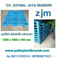 Pallet Plastik bekas semua ukuran 120x100x15 cm