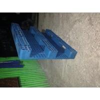Distributor Pallet Plastik bekas semua ukuran 120x100x15 cm  3