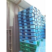 Pallet Plastik bekas semua ukuran 130x110x12 cm Murah 5