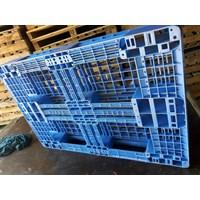 Pallet Plastik bekas semua ukuran 120x80x14.5 cm Murah 5