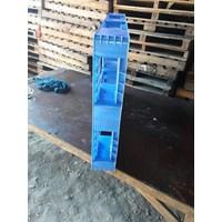 Distributor  Pallet Plastik bekas semua ukuran 120x80x14.5 cm 3