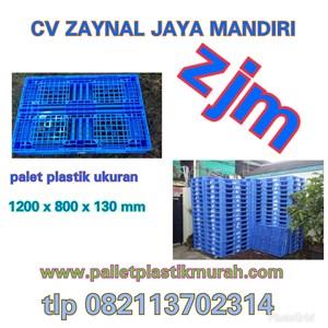 Pallet Plastik bekas semua ukuran 120x80x14.5 cm