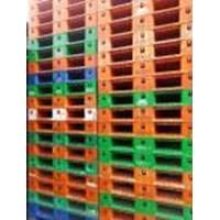 Distributor Juan Pallet plastik bekas semua Ukuran 110x110x12cm 3